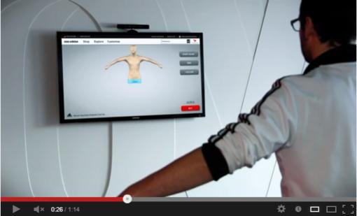 BodyKinectizer, ou la technologie qui pourrait bien révolutionner la façon dont on fait du shopping