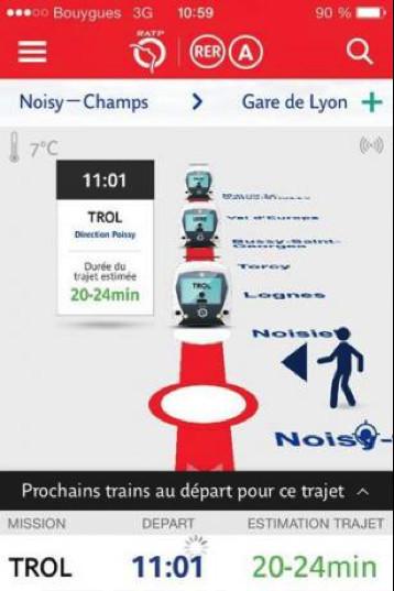 La   RATP  lance  de    nouveaux    services  digitaux   pour  faciliter le quotidien des voyageurs