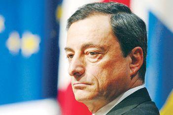 Mario Draghi, pendu à la décision de l'Allemagne?