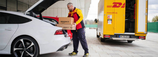 Partenariat logistique entre Amazon et Audi