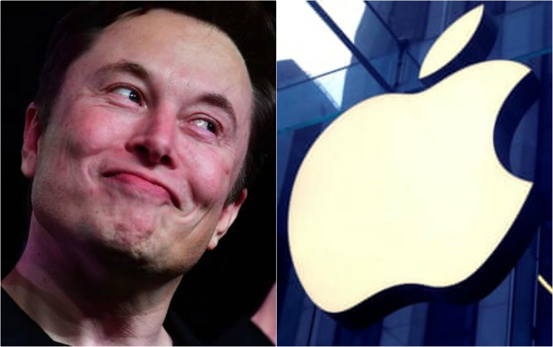 Elon Musk fait une grosse révélation sur Apple